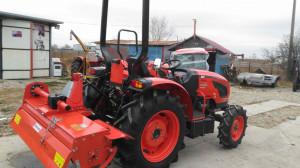 Tractor nou, 4x4 de 45CP, Kioti DK4510HS CadruROPS
