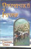 Constanta Barboi - Onomastica si istorie