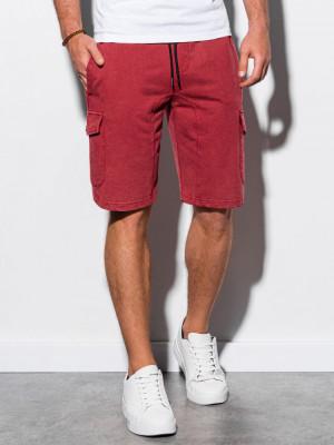 Pantaloni scurti barbati W225 - rosu foto