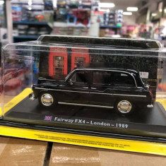 Macheta Fairway FX4 - London - 1989 - Taxiuri scara 1:43