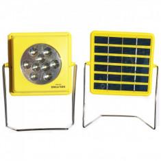 Proiector 9LED SMD2835 1.5W Incarcare Panou Solar si USB GD5027