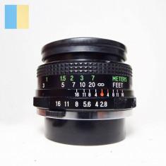 Obiectiv Vivitar 35mm f2.8 Auto Wide-angle montura Olympus OM mount [PR]
