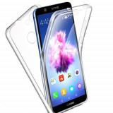 Husa 360 (fata+spate) silicon transparent pentru Huawei P Smart 2018