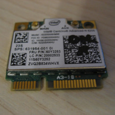 Placa wireless laptop Lenovo T530, Intel Advanced-N 6205, 60Y3253, 631954-001