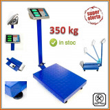 CANTAR ELECTRONIC PLATFORMA 350 KG, BRAT RABATABIL, TABLA STRIATA, FUNCTIE SHAKE