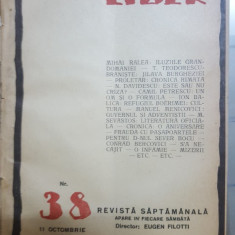 Cuvântul liber, Nr. 38, 11 octombrie 1924