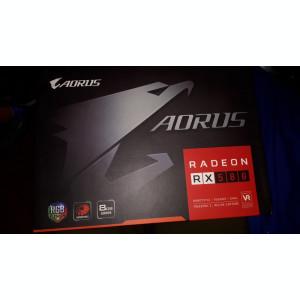 RADEON RX 580 8 GB AORUS