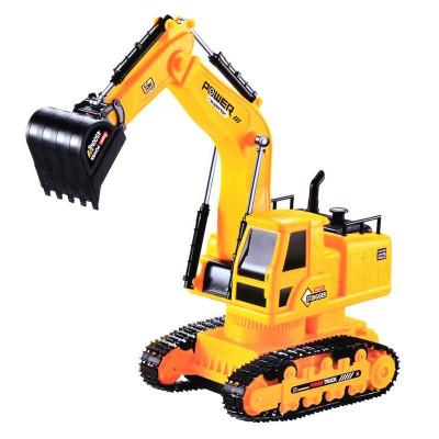 Excavator cu cablu Super Truck cu telecomanda foto