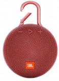 Boxa Portabila JBL Clip 3, Bluetooth, Waterproof (Rosu)
