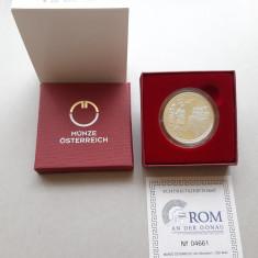 Moneda tematica de argint - 20 Euro 2010, Austria - calitate Proof
