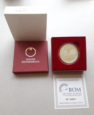 Moneda tematica de argint - 20 Euro 2010, Austria - calitate Proof foto