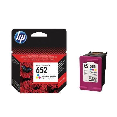 Cartus cerneala HP ink advantage 652 F6V24AE Color foto