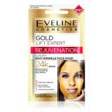 Cumpara ieftin Masca luxurianta de fata Eveline Cosmetics Gold Lift Expert, 3 in 1 antirid cu aur de 24K
