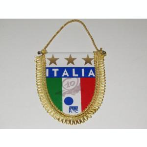 Fanion fotbal - Federatia de Fotbal din ITALIA (cu autograf)
