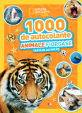 1000 de autocolante. Animale fioroase/National Geographic Kids