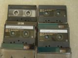 Lot 4 Casete SONY Chromdioxid CrO2 - Inregistrate o singura data - 92