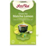 Ceai Verde cu Matcha si Lamaie Ecologic/Bio 17dz 30.6g