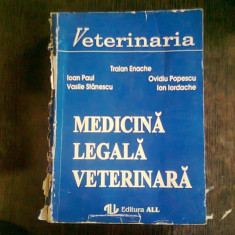 MEDICINA LEGALA VETERINARA - TRAIAN ENACHE