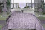 Cumpara ieftin Cuvertură de pat Valentini Bianco din brocard, Fust 171 Lila