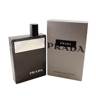 Prada Amber Pour Homme Intense Eau de Parfum pentru bărbați 100 ml foto