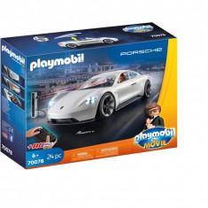 Playmobil The Movie - Rex Dasher cu Porsche Mission E.