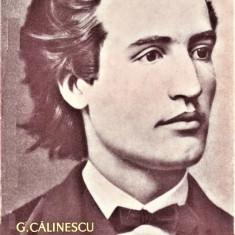 Viata lui Mihai Eminescu G. Calinescu 1964