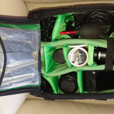 DSLR Pentax K10D cu accesorii