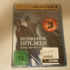[BluRay] Sherlock Holmes - A game of shadows  - film original bluray SIGILAT, BLU RAY, Altele