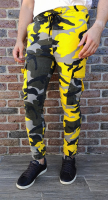Pantaloni Army - pantaloni barbati pantaloni camuflaj - cod 218 foto