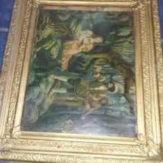 RAMA Tablou vechi pt.picturi si desing retro,rama masiva cum se vede,Tp.GRATUIT