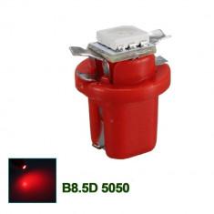Led bec 1 smd soclu T5 B8.5D pentru bord de culoare rosu
