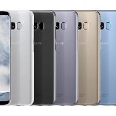 Husa originala Clear Cover Samsung Galaxy S8+ G9550 G9555 + folie sticla +stylus