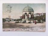 Carte postala veche vedere Turcia Constantinopol, anii 1900, circulata