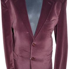 Sacou casual-elegant pentru baieti-LA KIDS 1488-06V, Visiniu