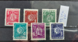 TS21 - Timbre serie Bulgaria - 1952, Stampilat
