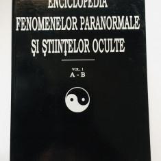 Enciclopedia Fenomenelor Paranormale si Stiintelor Oculte - Dan Seracu, vol. 1