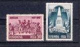 ROMANIA 1957 - 520 ANI DE LA RASCOALA DE LA BOBILNA - MNH  - LP 445