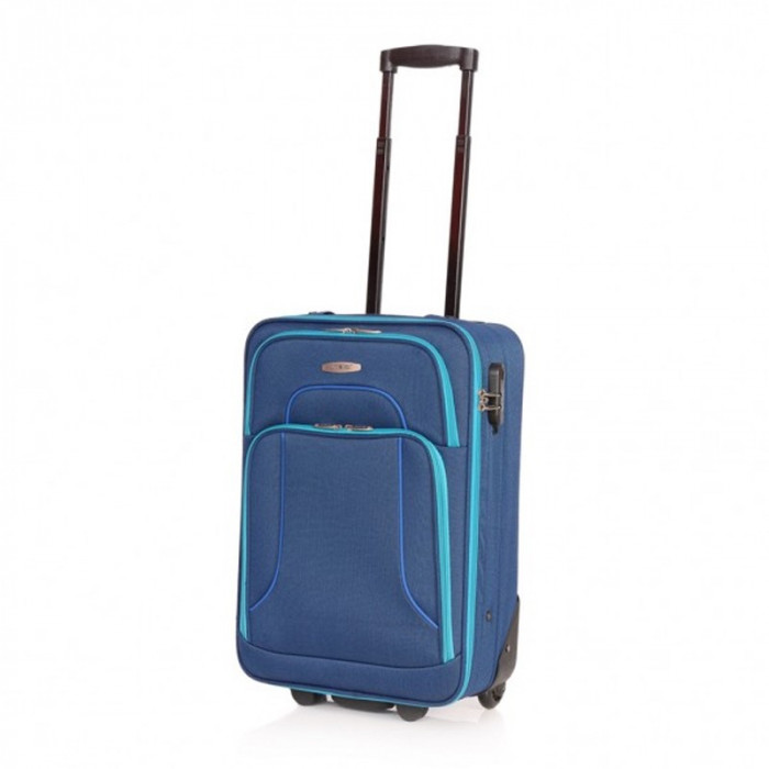 Troler Vision Lamonza, 54 cm, Albastru