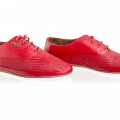Pantofi dama Caspian Cas-3060-Rosu