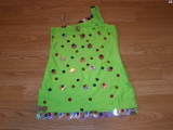 Costum carnaval serbare rochie dans pentru copii de 6-7 ani, Din imagine