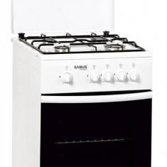 Aragaz Samus SM 550 ABS gaz 4 arzatoare alb