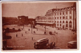 16- Bucuresti - Piata Garii de Nord, carte postala / Gara de Nord animata masini, Circulata, Fotografie