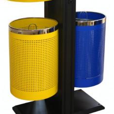 Coș de gunoi DUAL EXTERN 82,5x40x94x5cm MN012504 Raki