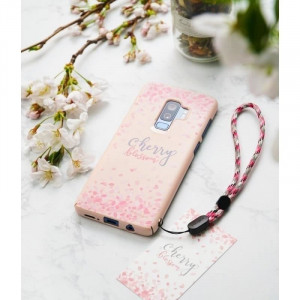 Husa Samsung Galaxy S9 Plus G965Ringke Cherry Blossom Roz