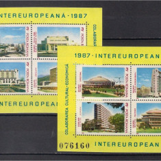 1987 - Colaborare, blocuri neuzate
