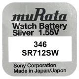 Baterie de ceas Murata 346 SR712SW 1.55V 1 Bucata /Set