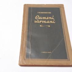 OAMENI SARMANI F M DOSTOIEVSKI  RF11/0