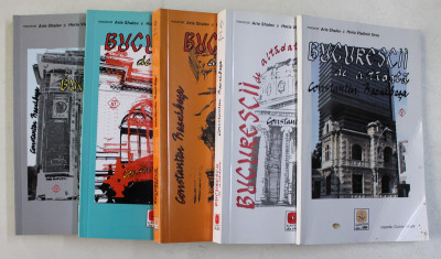 BUCURESCII DE ALTADATA de CONSTANTIN BACALBASA , 5 VOLUME , 2007 foto