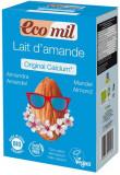 Pudra BIO instant pentru bautura de migdale original cu calciu, 800g Ecomil