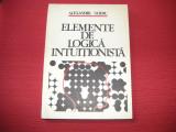 ELEMENTE DE LOGICA INTUITIONISTA - ALEXANDRU SURDU - DEDICATIE